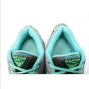 Saucony Shoes - Saucony Raptor TR Trail Running Shoes Gray Teal